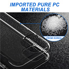 Pc Case For Iphone PC TPU Shell Clear Transparent Cellular Mobile Phones Case For IPhone 6 7 8 Plus X XS XR 11 Pro Max 12