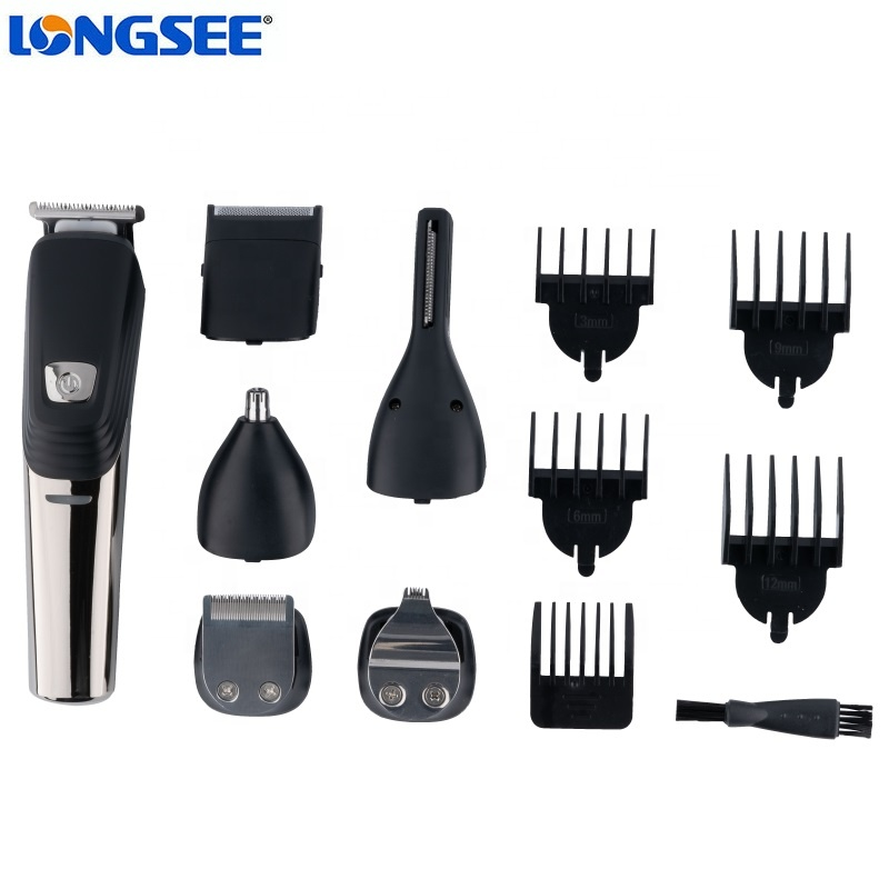 Cordless hair trimmer set men electric hair cutting machine multi function hair trimmer