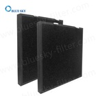Customized Panel 410X390X33mm Paper Frame Pleated Air Purifier Filters
