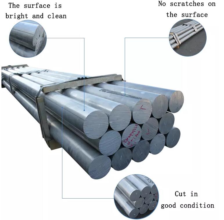 6063, 6061 redondo de aluminio billet aluminio precio 6061t6 barra de aluminio