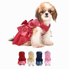 Hot Selling Pet Dog Business Wedding Dress Pet Dog Formal Dress For Spring Summer