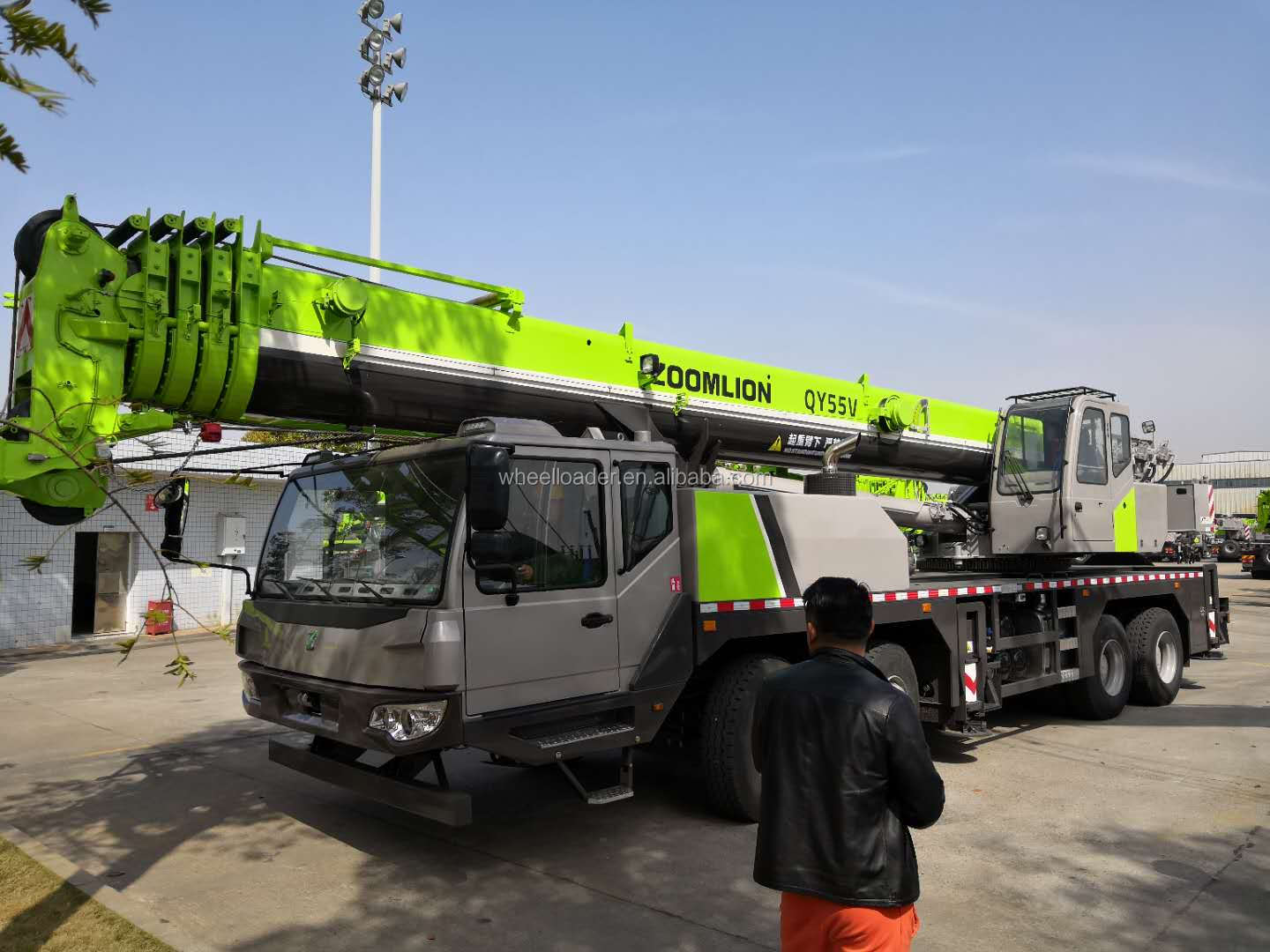 New Condition 16 Ton Small Lift Crane Mobile Crane For Sale