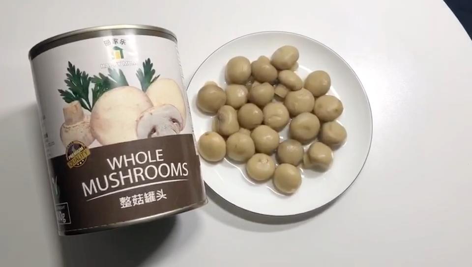 Commercio all'ingrosso Cinese BRC 800G verdure Intero Funghi Cibi In Scatola