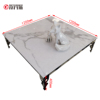 tempered laminated metal glass top center table tea table coffee table price