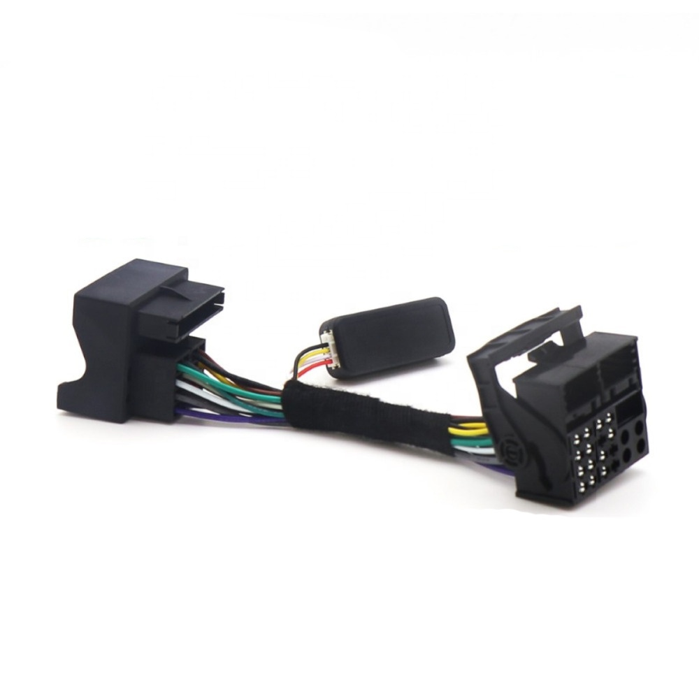 RCD330 Plus Multifunction Steering Wheel Button Control Simulator Adapter For VW