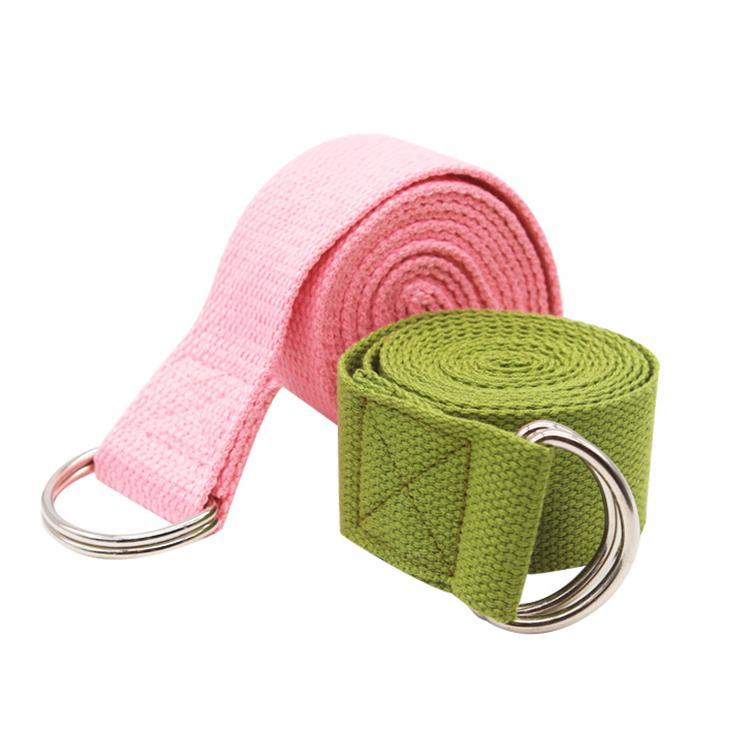 Jointop Wholesale cheap100% cotton yoga belt function strap buy online