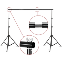 Mini Tripod Bracket Background Stand Support Stand Holder System Film Shooting Equipment