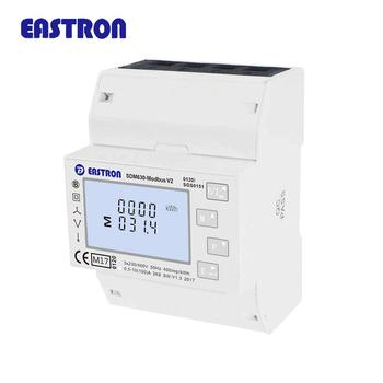 SDM630Modbus V2 MID Approved Three Phase Multifunction Electronic Din Rail Meter