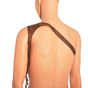 dropshipping new arrival wholesale slingle double genuine leather camera straps for canon nikon camera