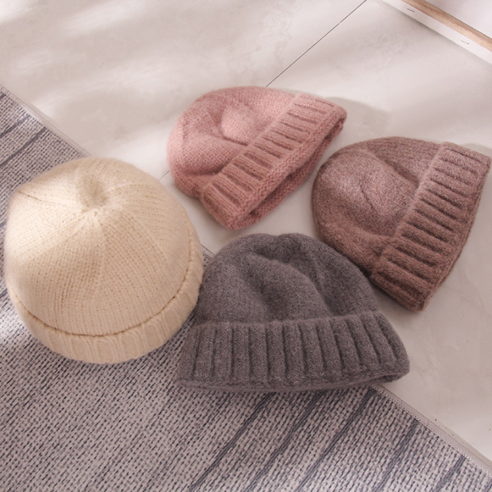 Wholesale Winter Women and Men Hip Beanies Wool Knitted Hats