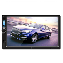 "SWM A4 2 Din 7 ""Touch Screen Auto MP5 <span class=keywords><strong>Video</strong></span> Player Android 8.1 GPS Navi WiFi Bluetooth FM Radio 1GB 16GB Media Player Mit Kamera"