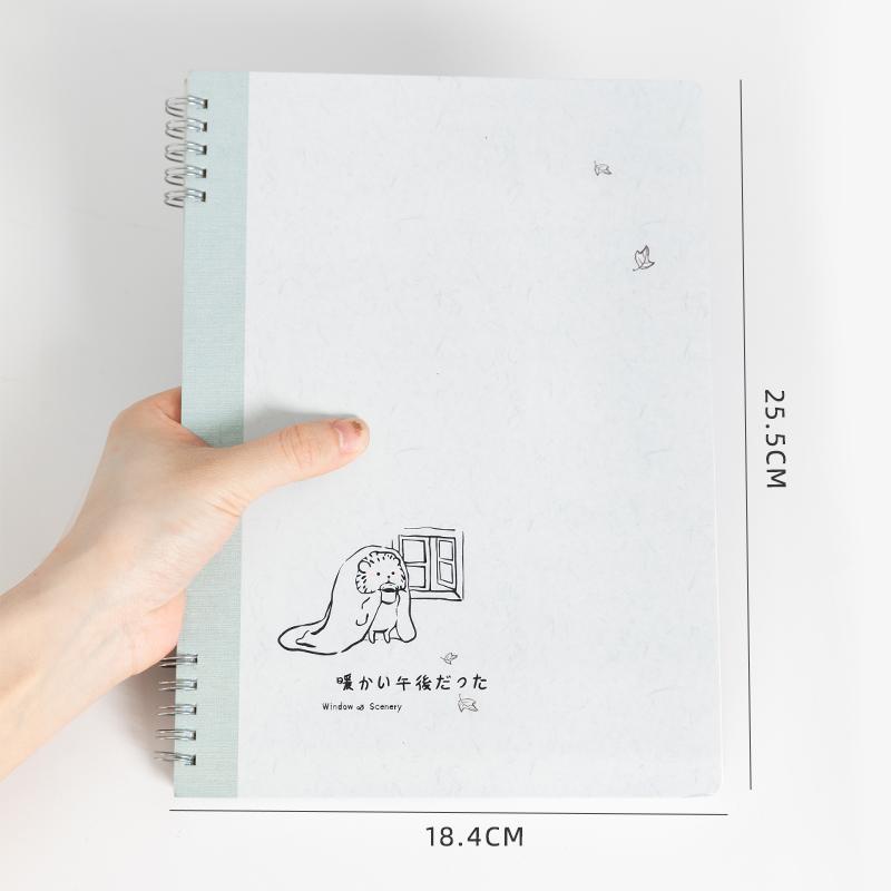ユニークな Pvc カバースパイラルノート