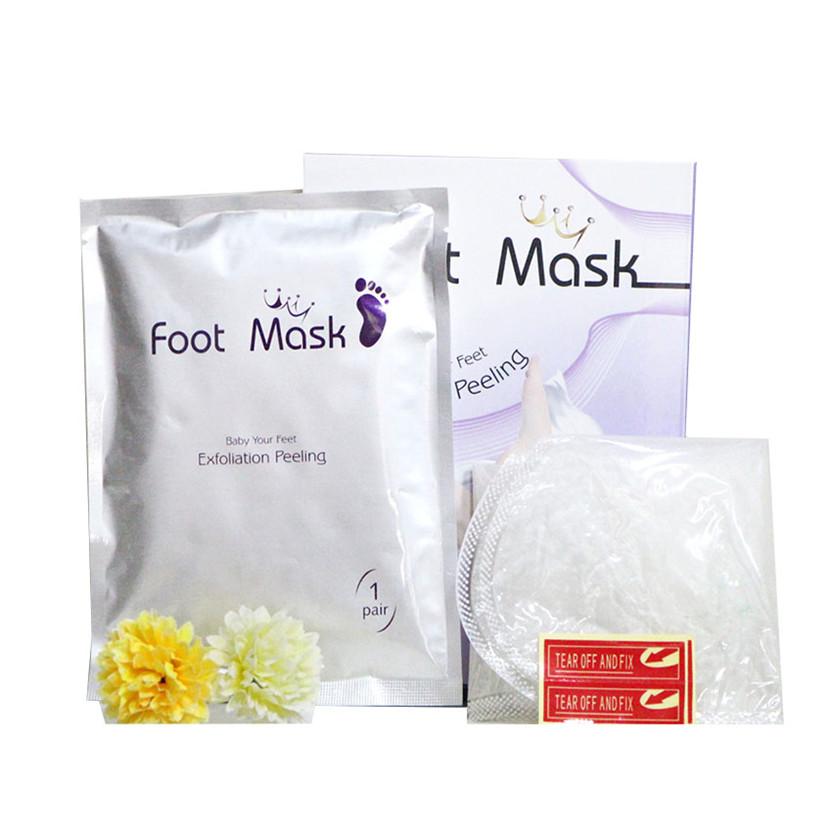 Peeling Exfoliating Foot Mask Feet Mask Remove Dead Skin Cuticles Heel Foot Care Pedicure Socks