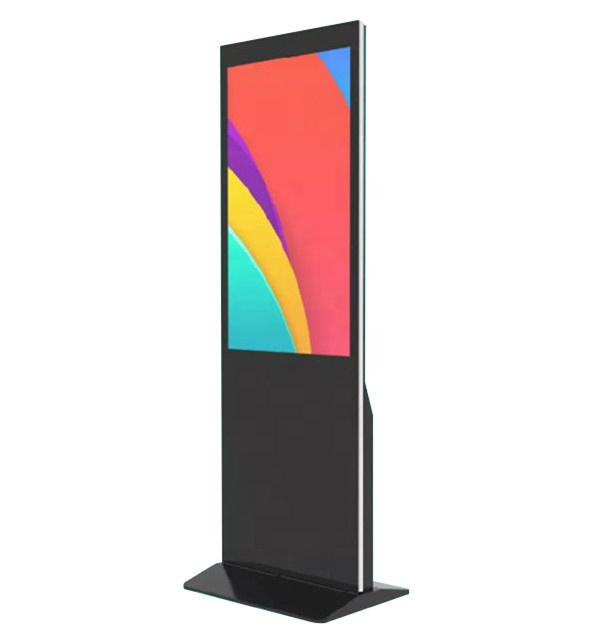 ALS 43 inch hot koop stands led touch display digitale reclame signages