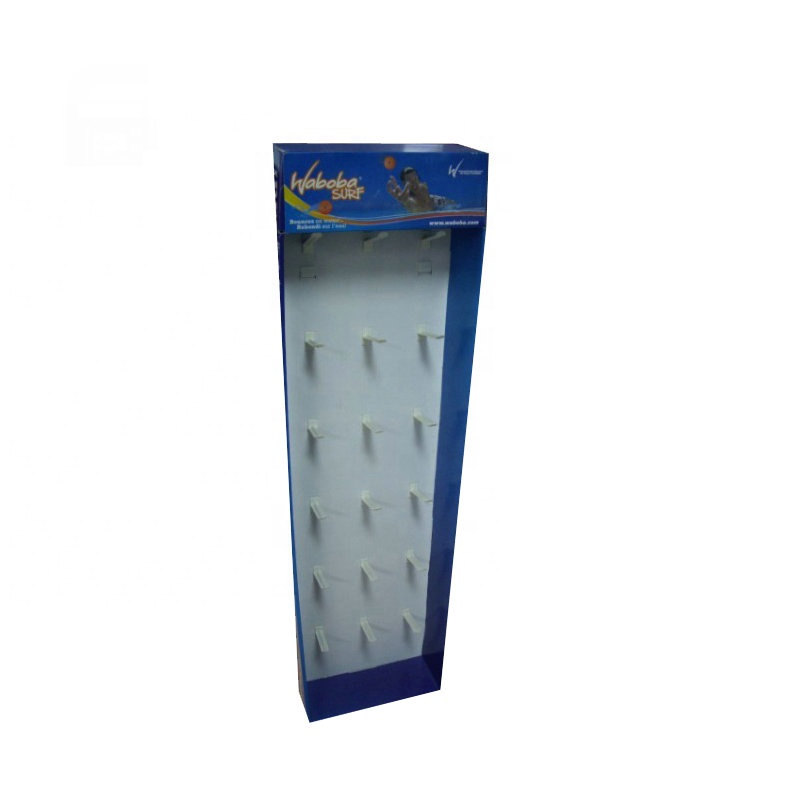 Custom POP <strong>Retail</strong> Foldable Hanging Power Wing Display Hooks Rack