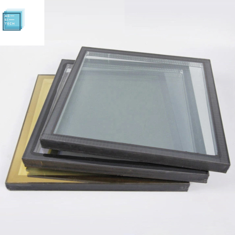 Clear tempered safety igu glass 6A IG insulated glass 10mm+9A+12mm  double glazing unit price unbreakable glass sheet