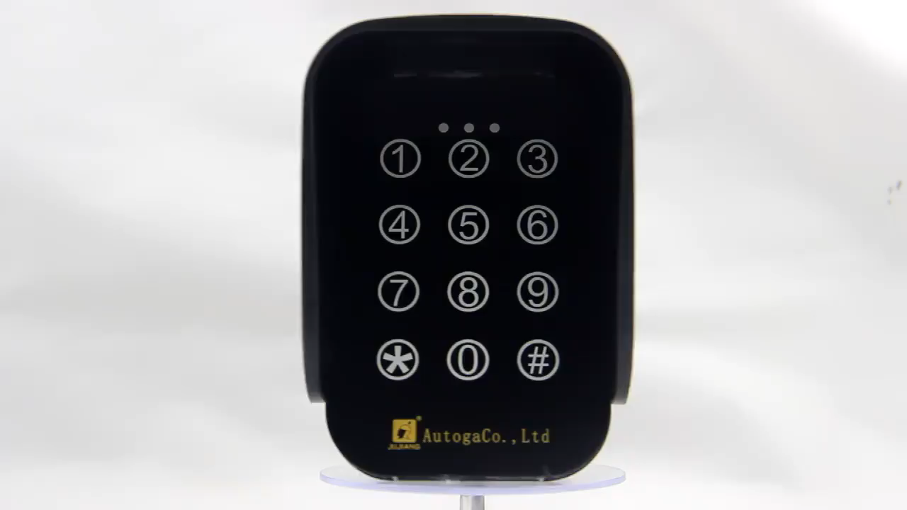 Tahan air dan Smart Keamanan Nirkabel Keypad JJ-TKM-01