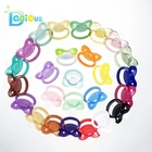 High Quality Large Glitter Adult Baby Pacifier With Big Size Nipple Teat