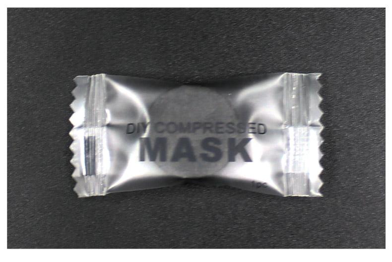 Charbon de bambou compression masque 100 granulés