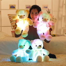 30Cm LED Plush <span class=keywords><strong>Teddy</strong></span> <span class=keywords><strong>Bear</strong></span> Kustom Boneka <span class=keywords><strong>Teddy</strong></span> <span class=keywords><strong>Bear</strong></span>