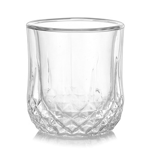 Crystal Glass Cup For Tea Hand Blown Glass Double Wall