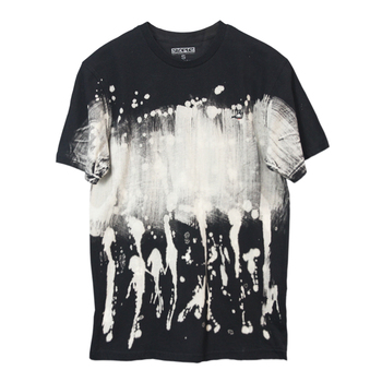 ODM&OEM High quality 100%cotton tie dye washed t.shirt men