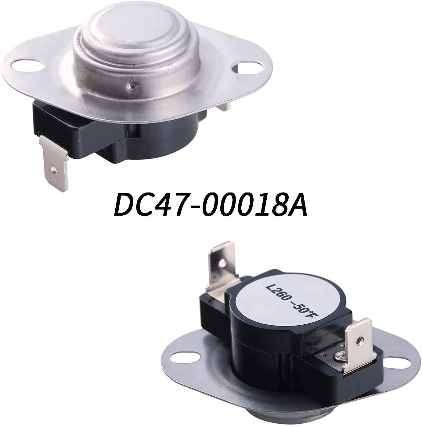 Dryer Heating Element (DC47-00019A), (DC96-00887A and DC47-00016A) Thermal Fuse, (DC32-00007A and DC47-00018A ) Thermistor Kit