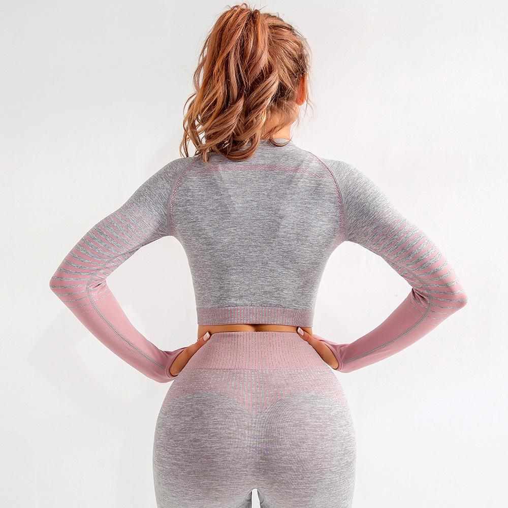 High Quality Custom Logo Yoga Clothes 5