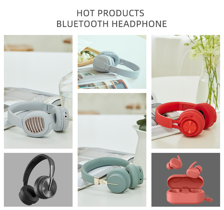 Foldable high end wireless bluetooth headphone,logo custom silent disco headphone