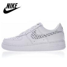 Nike Air Force 1 Оригинальная Мужская обувь для скейтбординга Новое поступление удобные кожаные уличные спортивные кроссовки # CJ2826-178()
