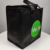 Custom fitness kids small non woven black cooler lunch bag for food delivery