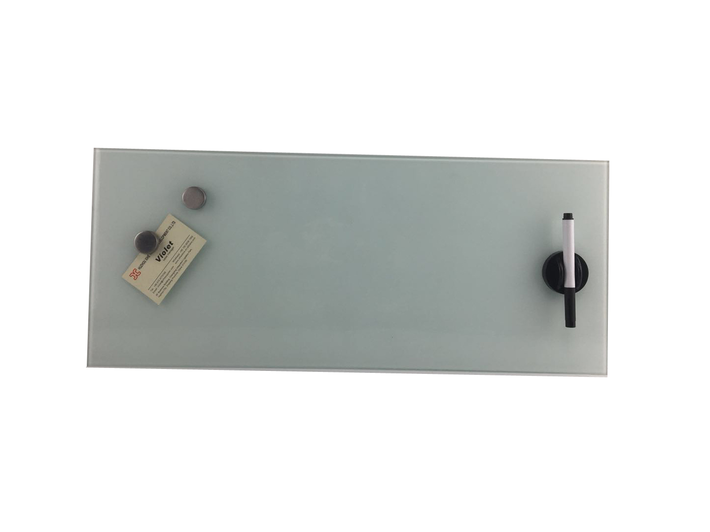Office Home Supplier Dry Erase Writing Magnetic Glass Memo Board