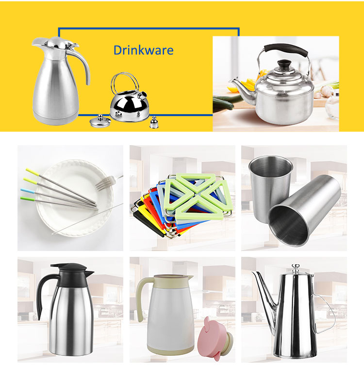 High quality cheap durable restaurant vacuum water kettle stainless steel for home