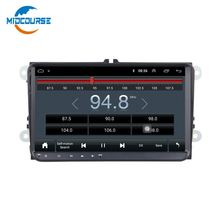 "9 ""4 Core Android8.1 Touch Screen Auto Sistema Multimediale Autoradio DVD GPS per il VW Skoda Quadvia 2009 2010 2011 2012 2013"