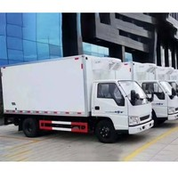 China Factory Price 4X2 Mini Box Lorry Van Truck