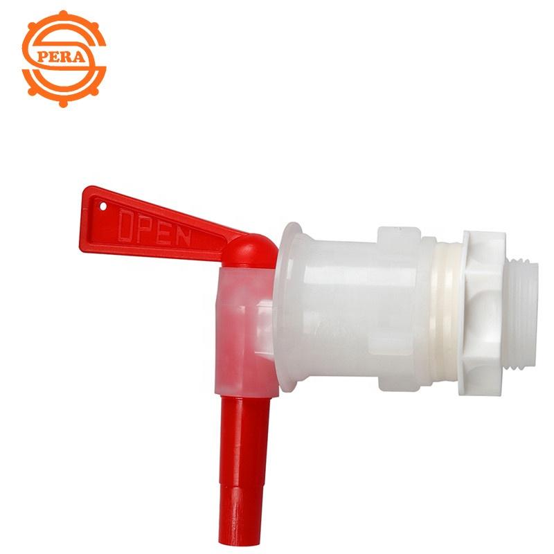 高品質のプラスチックボトルの白い水の蛇口、ボトル入りの水バケツのタップ