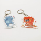 Acrylic Keychain Custom UV Printed Acrylic Plastic Key chain Charms