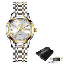 2019 LIGE, женские часы, розовое золото, Топ бренд, роскошные часы для женщин, Кварцевые водонепроницаемые женские наручные часы, часы для девуше...(Китай)