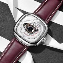 Высокое качество роскошные полностью стальные мужские часы Montre автоматические механические наручные часы для мужчин Reloj Hombre деловые часы д...(Китай)