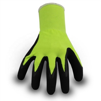 Best Quality China Manufacturer Latex Pu Coated Hand Job Gloves