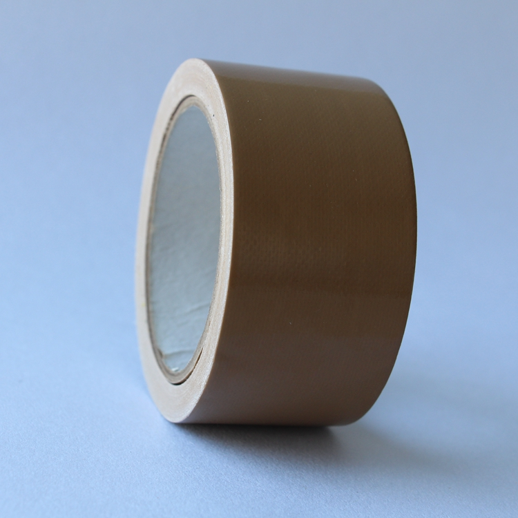 1060mm x 1000m Heavy Duty Lijm Bruin Doek Duct Tape