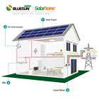 Energy Solar Panel Set 10kw Bluesun 30kw Home Solar System Price 30000w 20kw 10kw Grid Tie Home Energy System