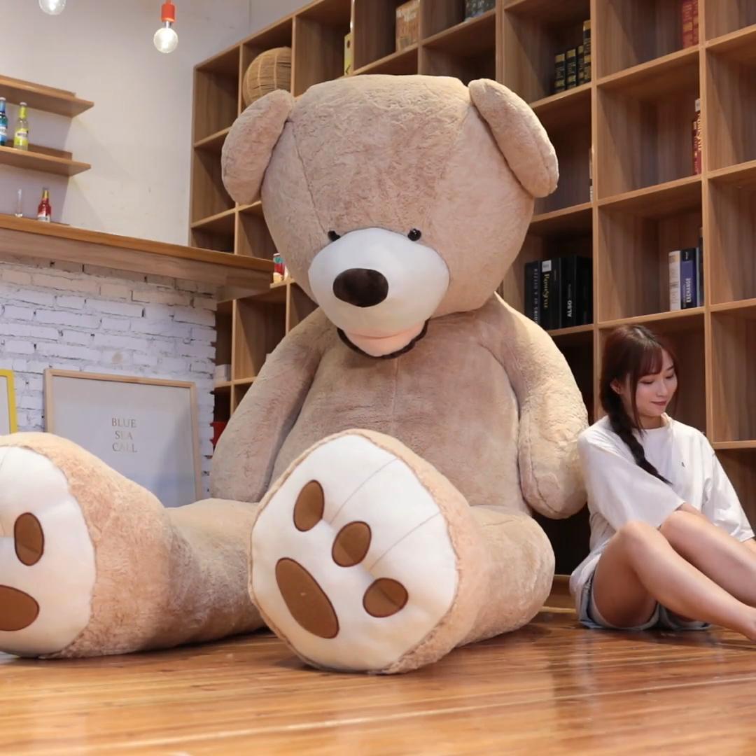 도매 중국 양주 공장 부드러운 인형 큰 거대한 테디 베어 인형 장난감 프로모션 (200 CM)