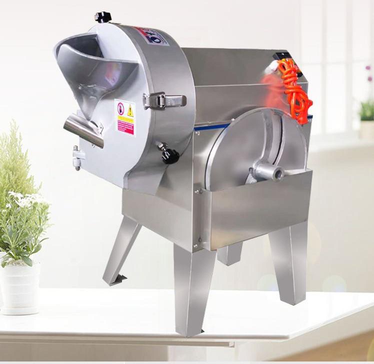 Gıda sınıfı paslanmaz çelik endüstriyel sebze cips kesme makinası
