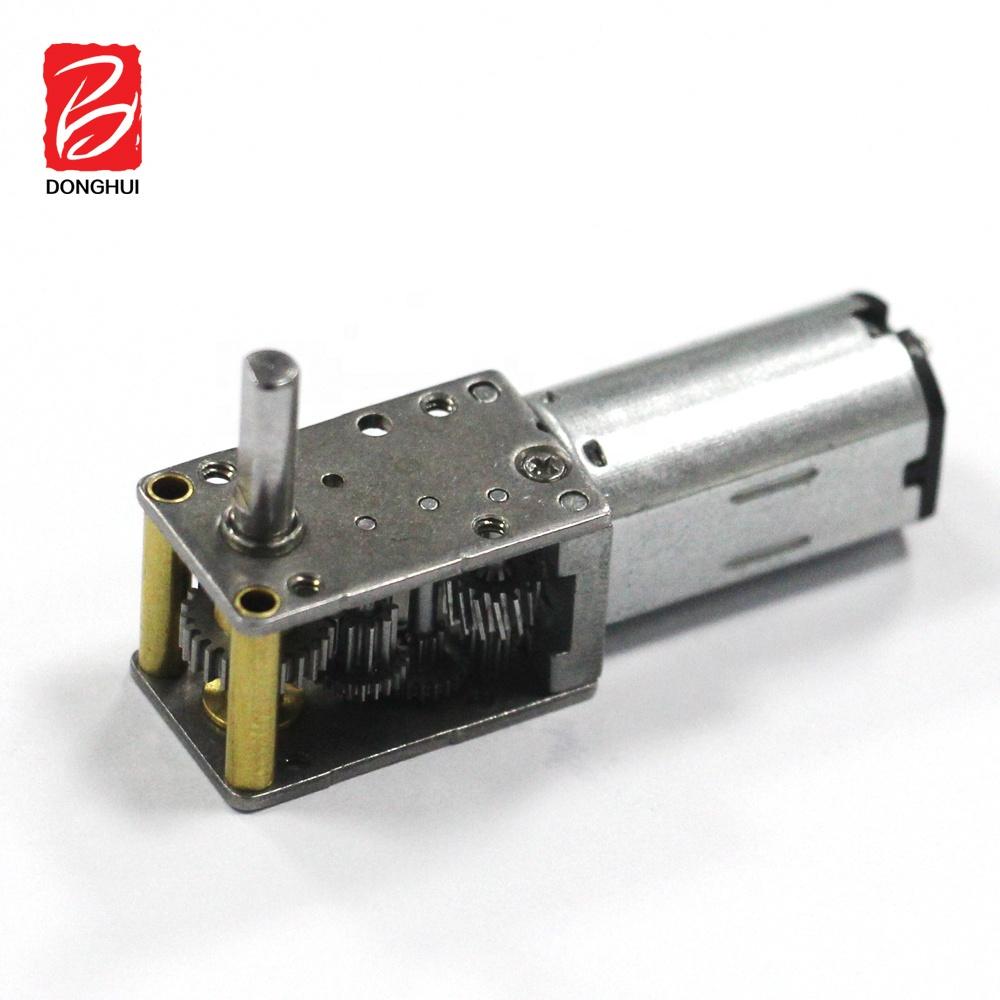 12 Mét Nhỏ 1.5V 3V 4.5V 5V 6V 12V N20 Chải Right Angle Dc Worm Gear Motor