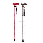 Engraved Walking Stick Walking Cane Aluminium Cane walking pole cane Crutch ER-TQE500