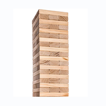 7.5X2.5X1.5 Cm Grenen Hout Pieces Giant Tumble Tower 36 Blokken <span class=keywords><strong>Spel</strong></span> Mini