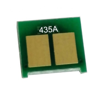 new chip universal chip CB435A toner reset chip for  HP LaserJet P1005/P1006