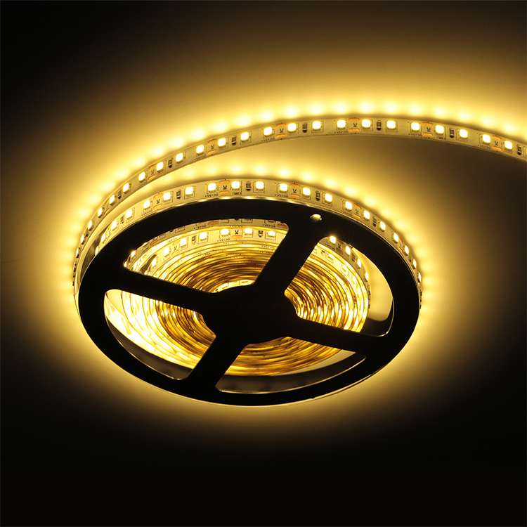 Hot Selling Outdoor Decoration Rgb smd2835 Ip65 Waterproof 12v Flex Led Strip Light