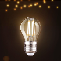 G45 Bulb Lights Item Type and CE Certification 4W 6W 8W E27 E26 B22 led filament lamp